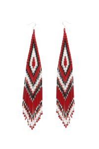 SHORT BEADED EARRINGS