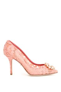 LACE BELLUCCI PUMPS