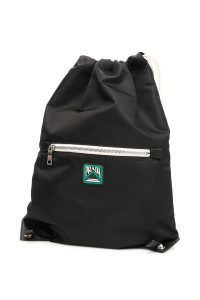BACKPACK WITH LOGO PATCH