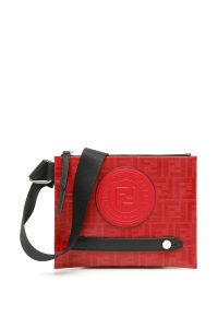 FENDI STAMP MESSENGER BAG