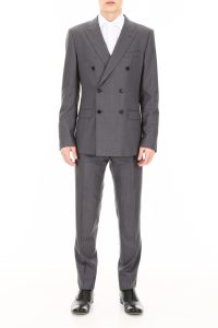 WOOL AND SILK SUIT