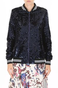SEQUINS KATEY BOMBER JACKET