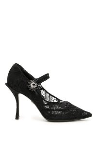 LACE MARY JANE PUMPS