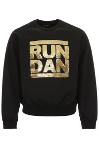 SWEATSHIRT WITH SEQUIN PATCHES