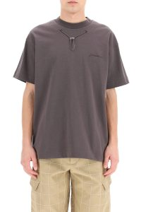 T-SHIRT OLIVE CON COULISSE